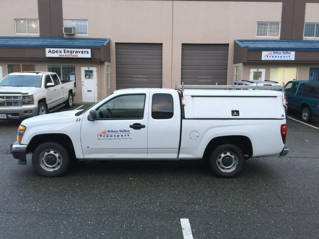Urban Valley Courier Truck