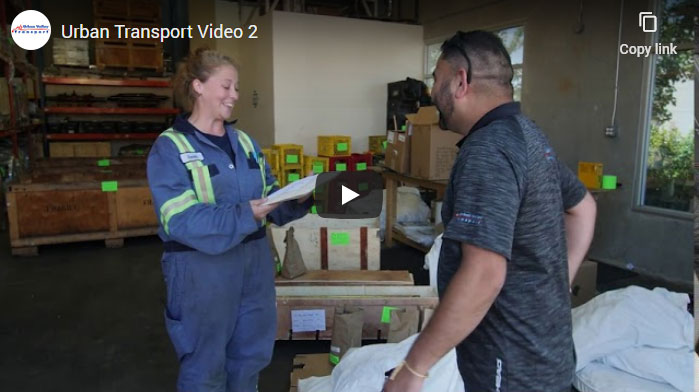 Urban Valley Transport Services Video